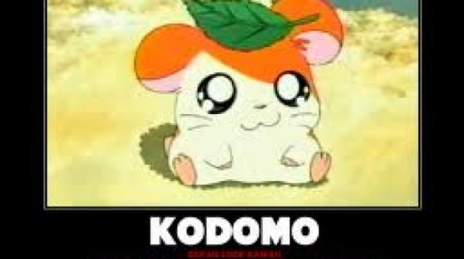 The best Kodomo anime