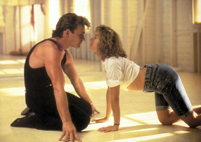 La pareja más romántica y con menos química en Dirty Dancing, increíble
