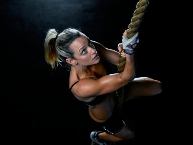 Seil klettert