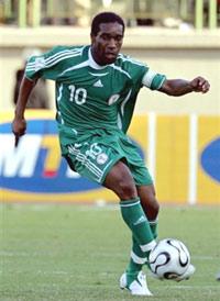Jay-Jay Okocha (Nigeria)