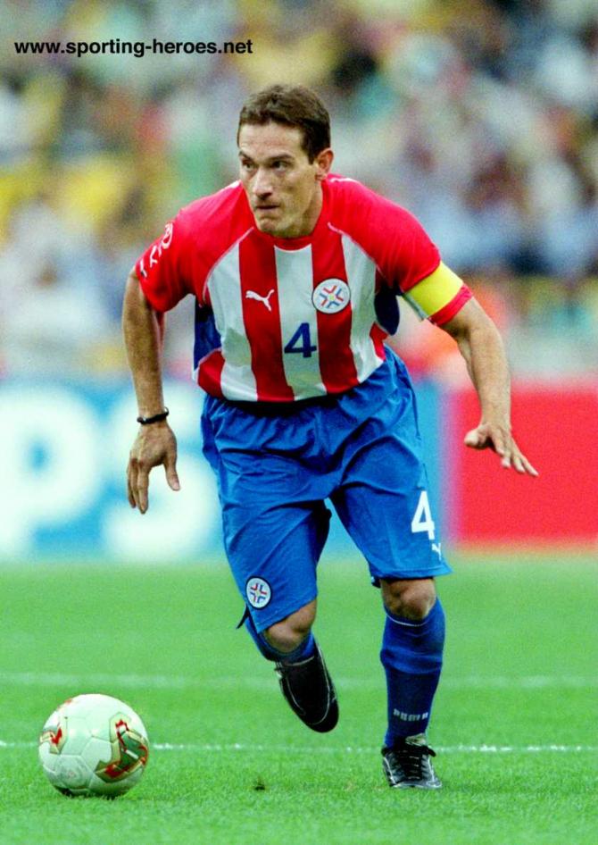 Carlos Gamarra (Paraguai).