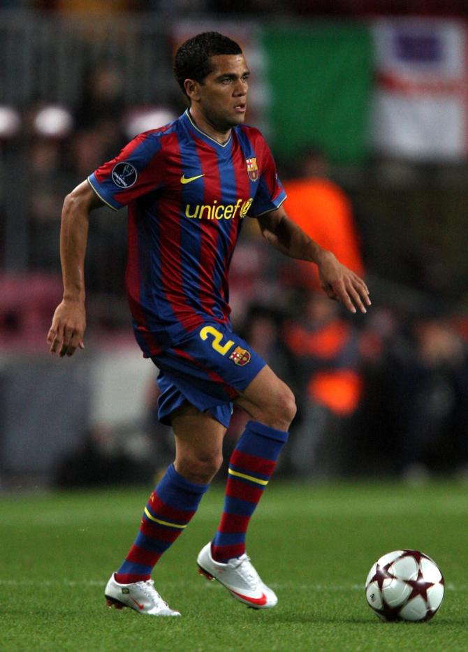 Daniel Alves (Brazil).