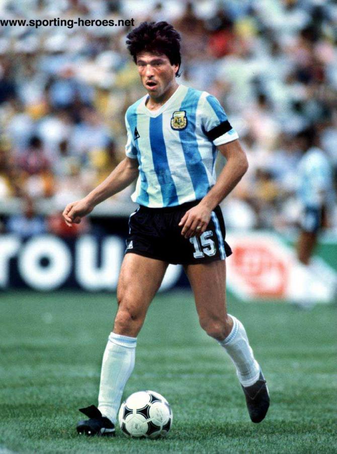 Daniel Passarella (Argentinien).