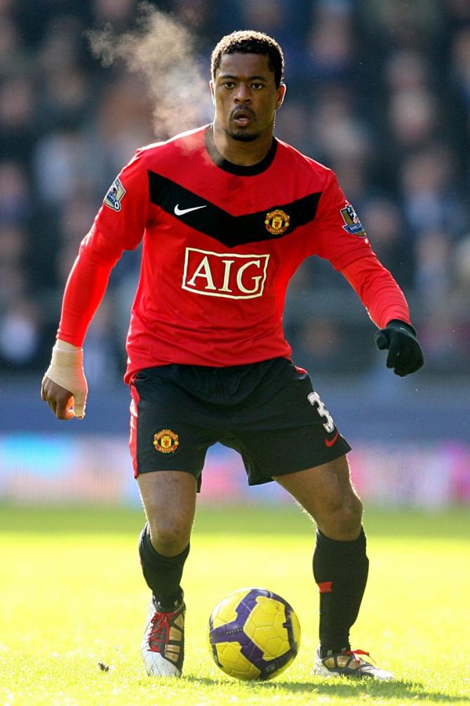 Patrice Evra (Senegal-Frankreich).
