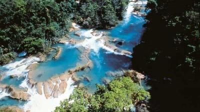 Самые красивые водопады в Мексике