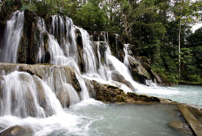 Табаско - водопад Агуа Бланка.