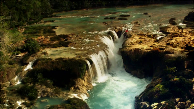 Чьяпас - водопады Лас Нубес.