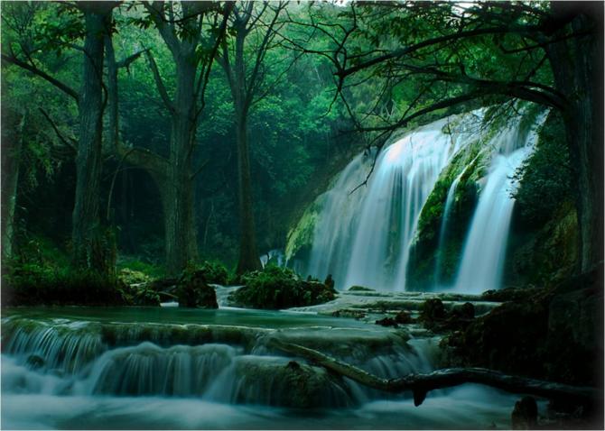 Чьяпас - Эль-Суспиро Водопад.