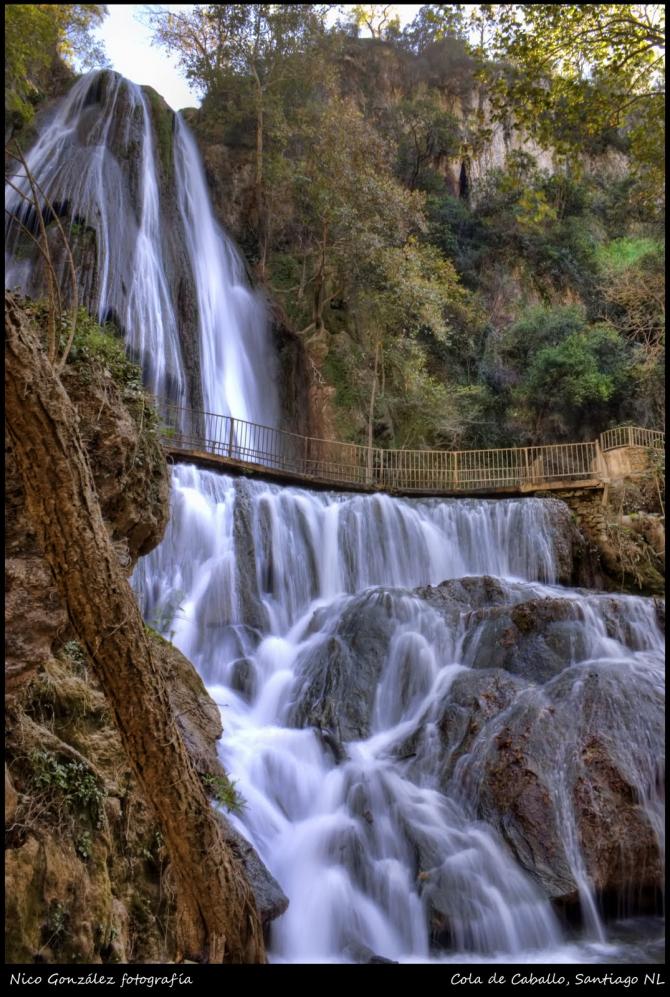 Нуэво Леон - Хвощ полевой водопад.