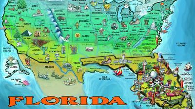 Крупные города Флориды