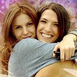 Pepa and Silvia