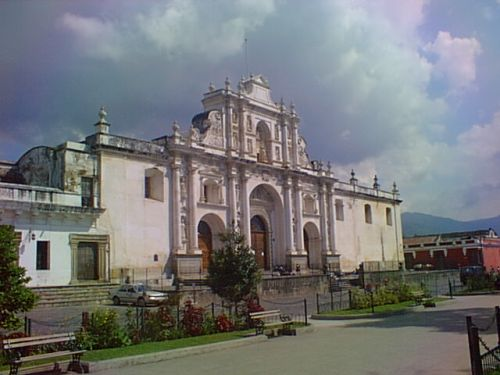 GUATEMALA OLD CATHEDRAL