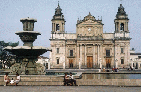 GUEDEMALA CITY CATHEDRAL
