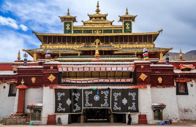 Самый монастырь (Китай)