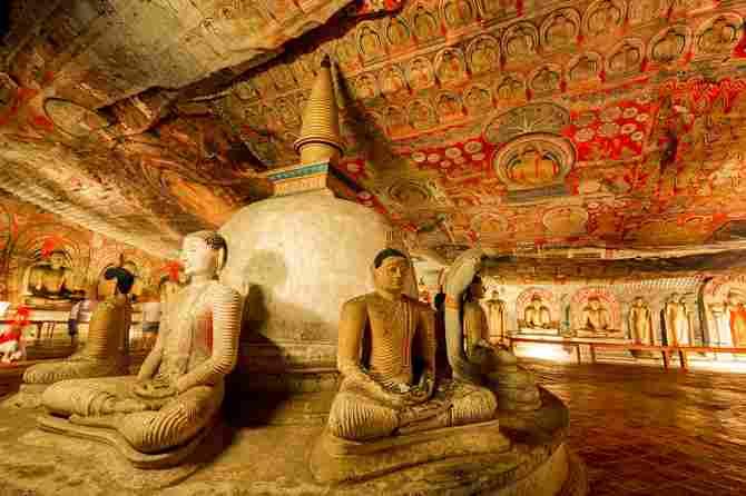 Golden Temple of Dambulla (Sri Lanka)
