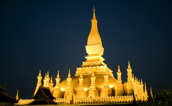 Pha That Luang (Лаос)