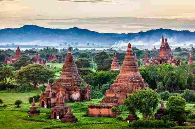 Temples of Bagan (Myanmar)