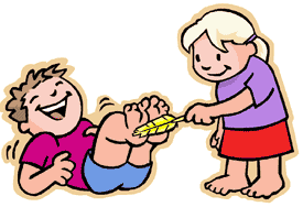 In the Middle Ages, tickles were used as a means of punishment