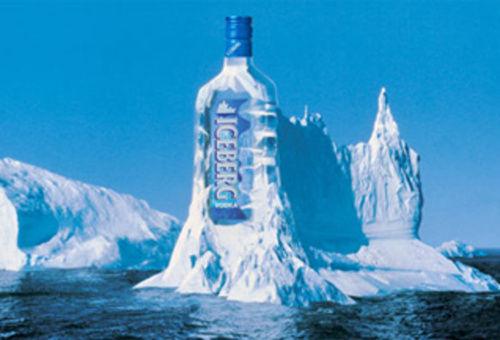 Iceberg vodka, Iceberg