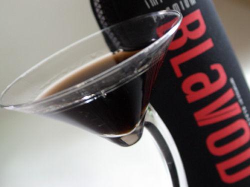 The black vodka, Blavod