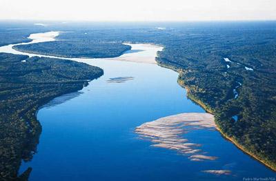 Река Амазонка (Перу, Колумбия и Бразилия)