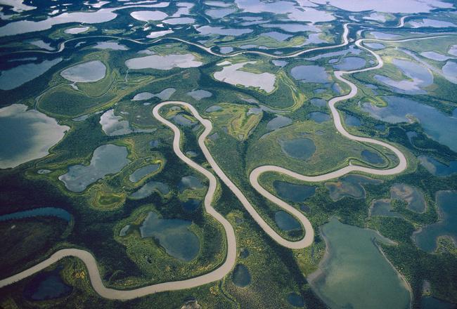 Река Маккензи (Канада)