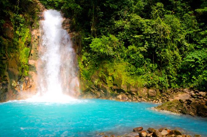 Река Селеста (Коста-Рика)