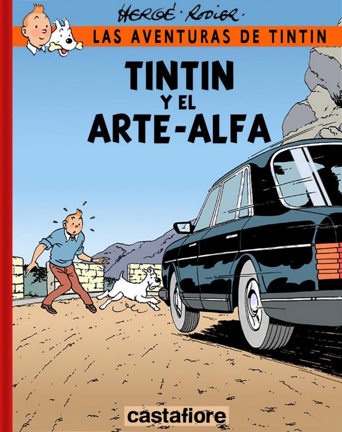 Tintin et l'art alpha (1986)