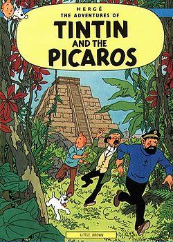 """Tintin et le """"voleur"""" (1976)"""