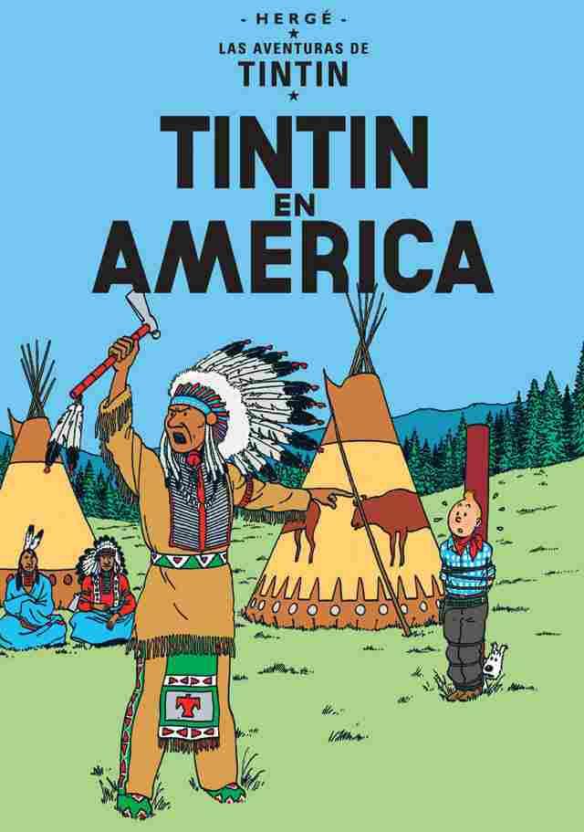 Tintin in America (1932)
