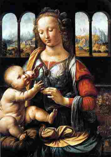 Carnation Madonna