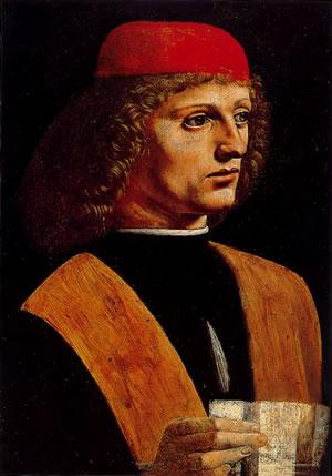 Portrait d'un musicien