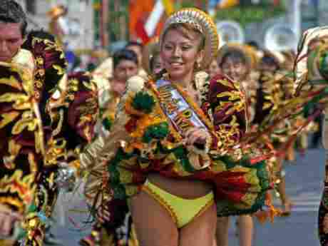 Andean Carnival with the Force of the Sun