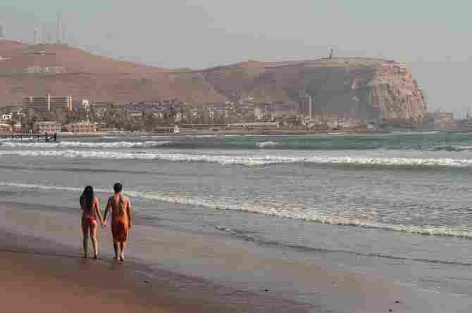 Chinchorro Beach
