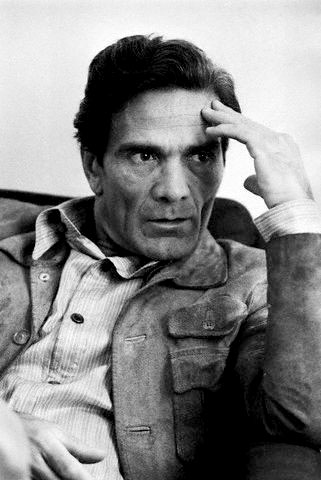 Pier Paolo Pasolini (writer, poet and filmmaker)