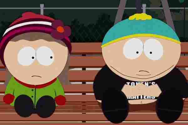 Cartman und Heidi.