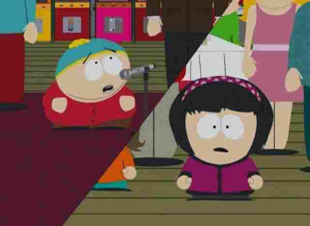 Cartman und Patty Nelson.