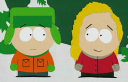 Kyle e Bebe.