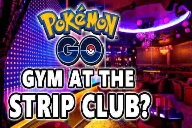 Gyms in cemeteries and strip clubs