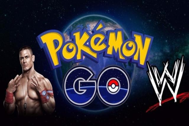 WWE headquarters as a Pokémon gym