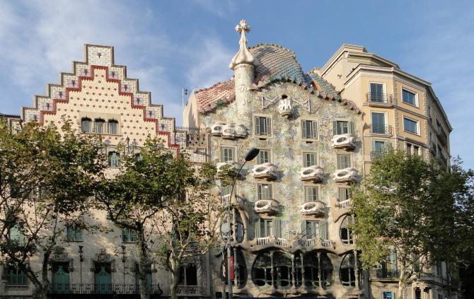Passeig de Gràcia - Casa Batlló and Casa Ametller
