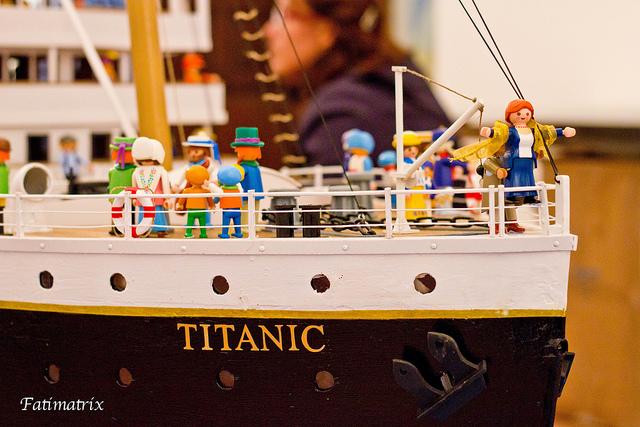 14 апреля 1912 года Титаник тонет в водах Атлантического океана