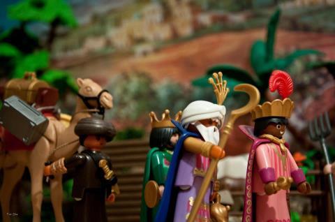 Парад Трех Королей 5 января в Севилье