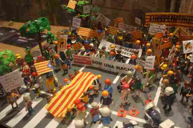Catalonia claims the independence of Spain
