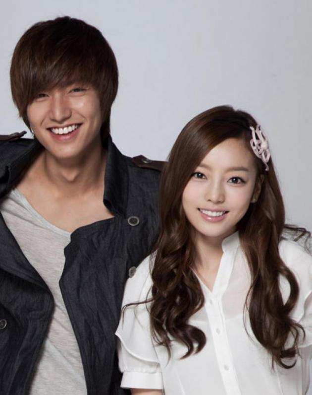 Lee Min Ho and Goo Ha Ra