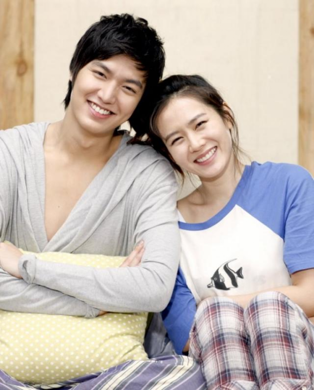 Lee Min Ho e Filho Ye Jin