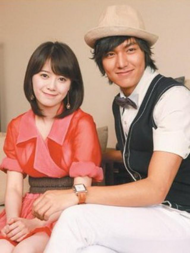 Lee Min Ho & Goo Hye Sonne