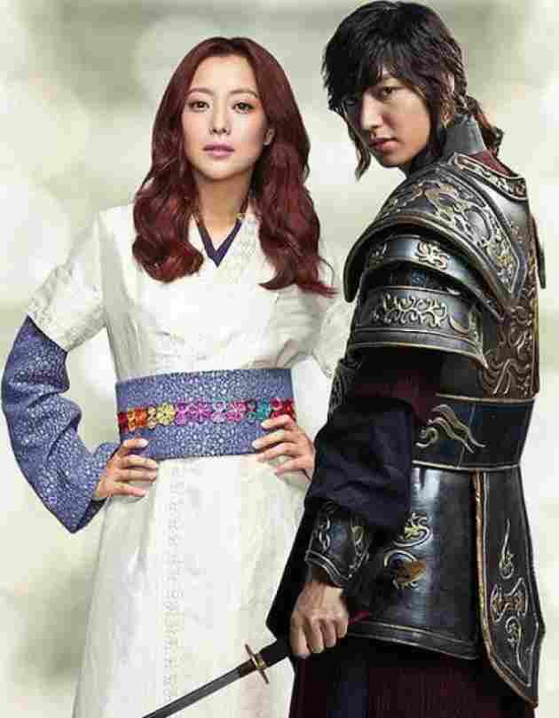 Lee Min Ho & Kim Hee Sun