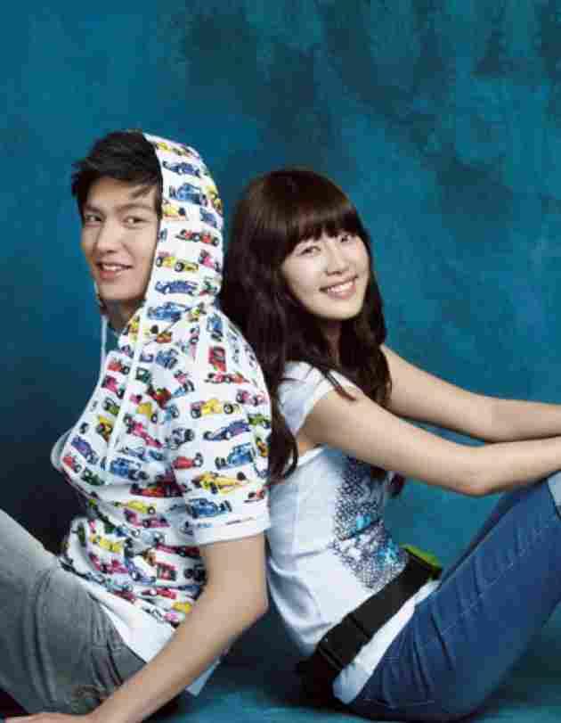 Lee Min Ho und Han Ji Hye