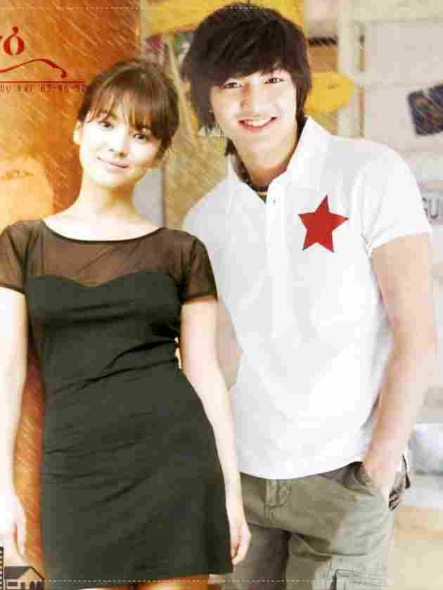 Lee Min Ho und Song Hye Kyo